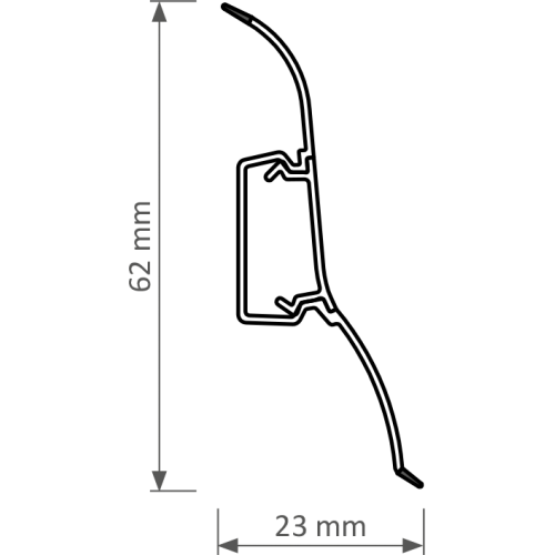 LISTWA PERFECTA 250CM
