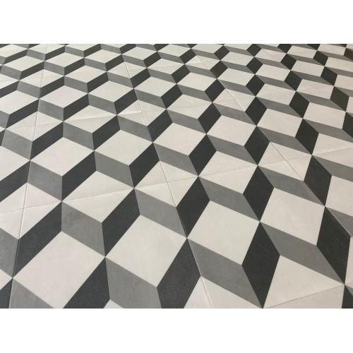 TARKETT ICONIK 240 Cube Tile BLACK